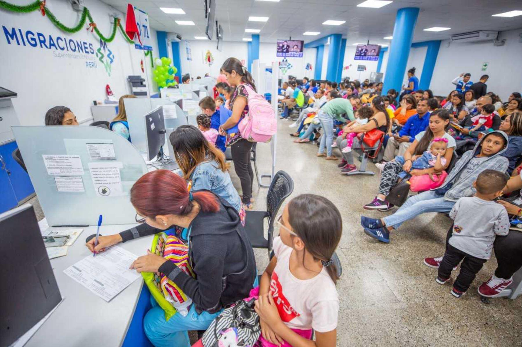 Más de 495 mil venezolanos realizaron gestiones para acogerse al PTP