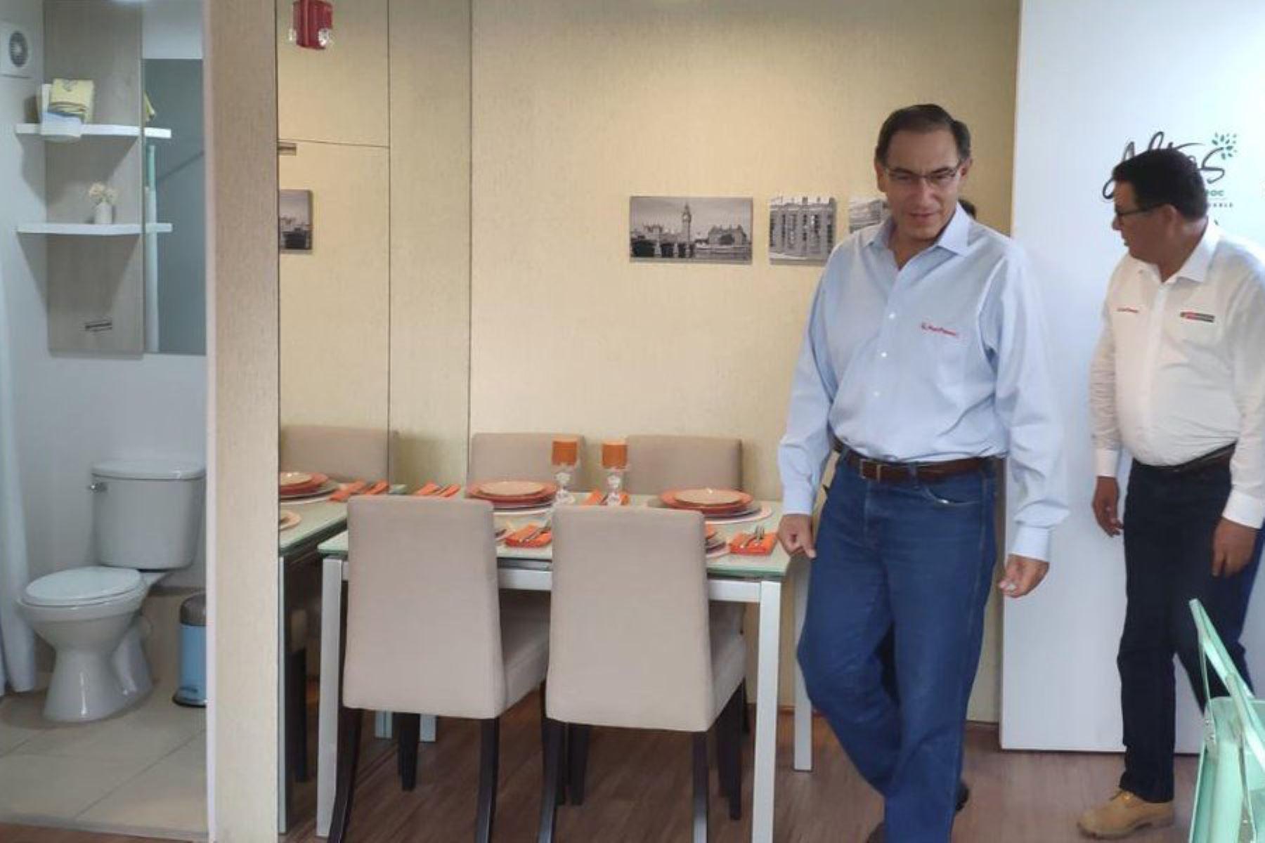 Megaproyecto de viviendas en el Rímac fue lanzado por el presidente Vizcarra