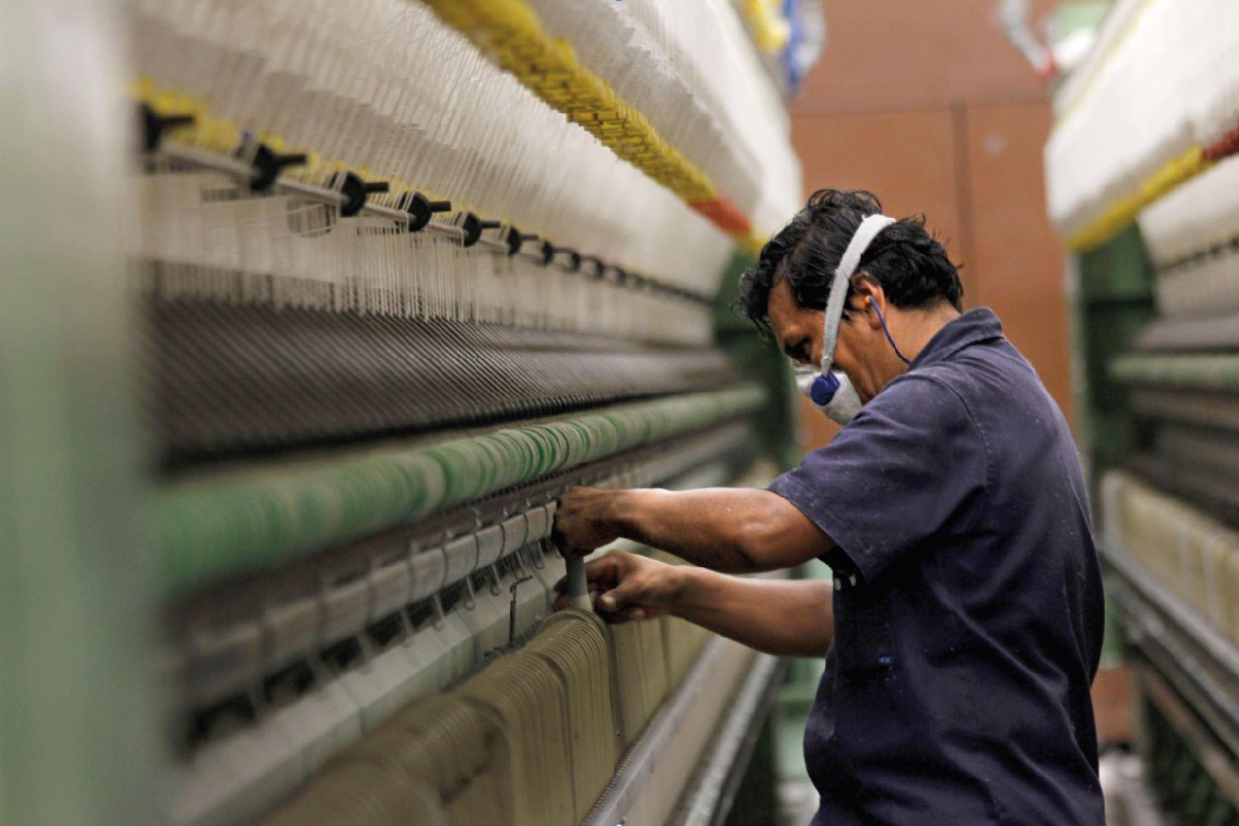 El 89.3% de industrias prevé aumentar su producción en primer trimestre del año