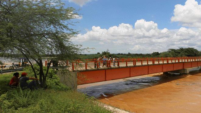 Declaran alerta roja por crecida del río Tumbes