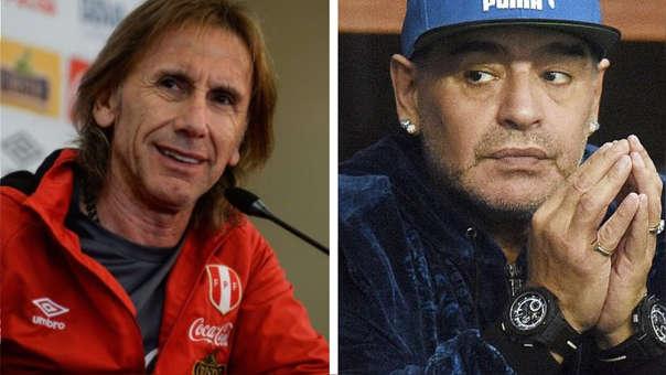 Diego Armando Maradona postula a Ricardo Gareca para dirigir la selección argentina