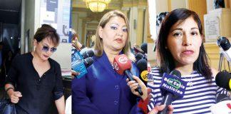 Empresaria Gonzales ha hecho grave acusación a las congresistas Salazar y Takayama, la primera aun no responde, la segunda lo ha rechazado