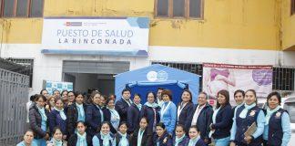 La Decana Elizabeth Alvarado Chavez del Consejo Regional III Lima Metropolitana y su Vocal II Lic María Huamaní Urquizo.