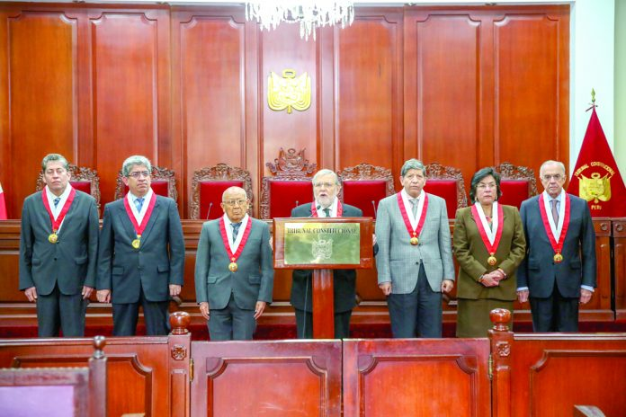 Tribunal Constitucional busca ser excluido de la conformación del consejo para la reforma judicial.