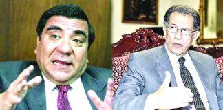 García Toma y Óscar Urviola