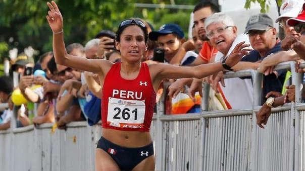 La atleta Gladys Tejeda logró la medalla de oro en los Juegos Panamericanos Lima 2019