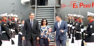 Vizcarra asiste a toma de mando en Panamá