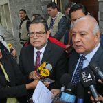 Wilfredo Pedraza y Alberto Otárola, Abogados de la familia, Ollanta Humala Tasso y Nadine Heredia Alarcón.