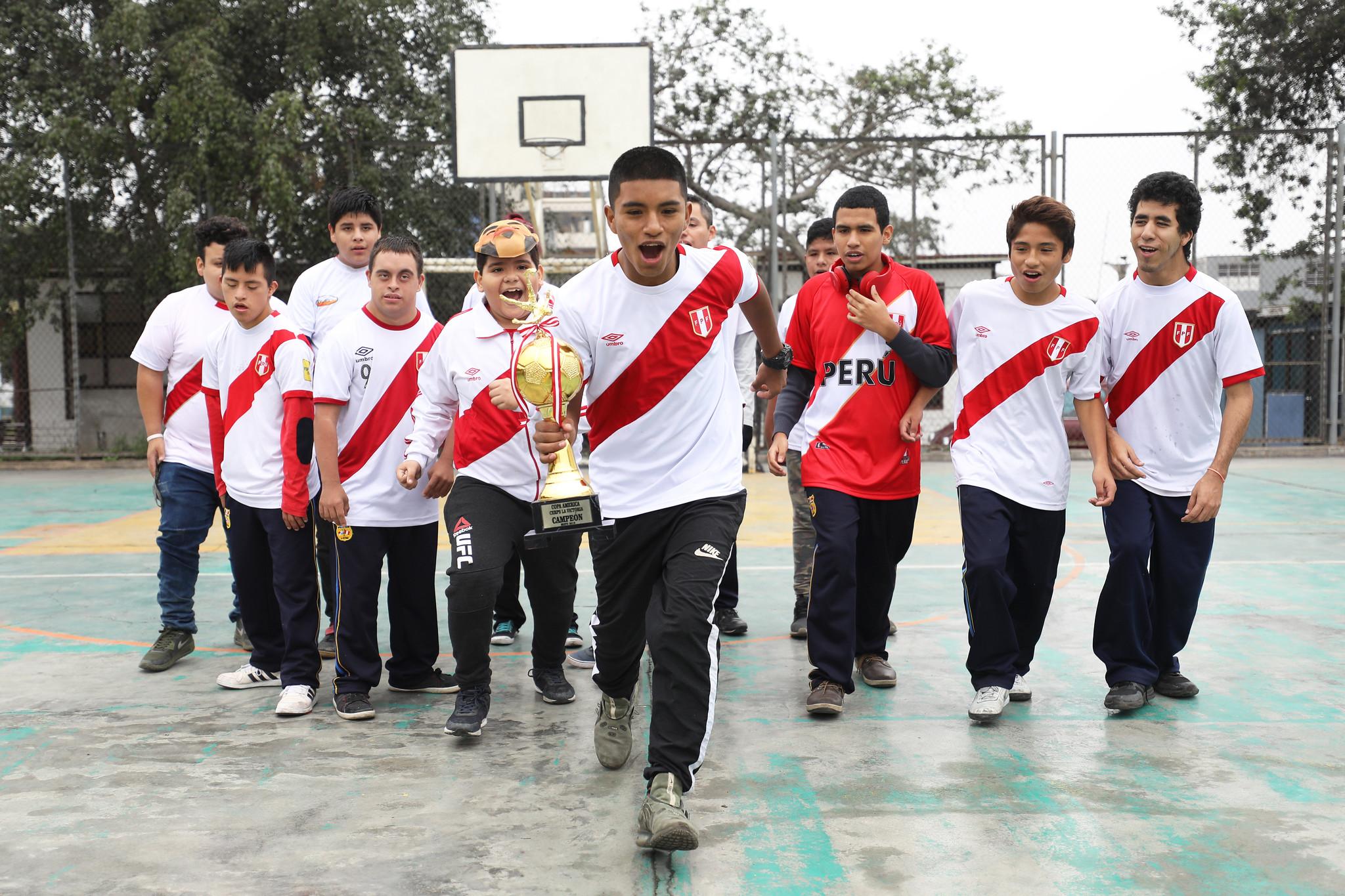 Personas con discapacidad envían mensaje de aliento a selección peruana para ganar la Copa América