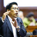 Gilbert Violeta señaló que existe una gran responsabilidad política del ministro de Justicia, Vicente Zeballos.