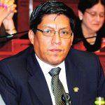 Ministro de Justicia, Vicente Zeballos, por la excarcelación del sicario Rubén William Moreno Olivo, alias 'Goro',