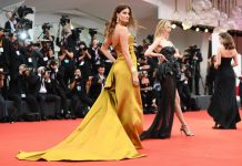 La alfombra roja del Festival Internacional de Cine de Venecia