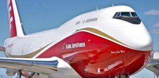 """800 mil dólares de garantía y dijo que el costo del servicio del avión SuperTanker"""", un cisterna 747-400 de fabricación estadounidense, llegaría a 16.000 dólares por vuelo."""