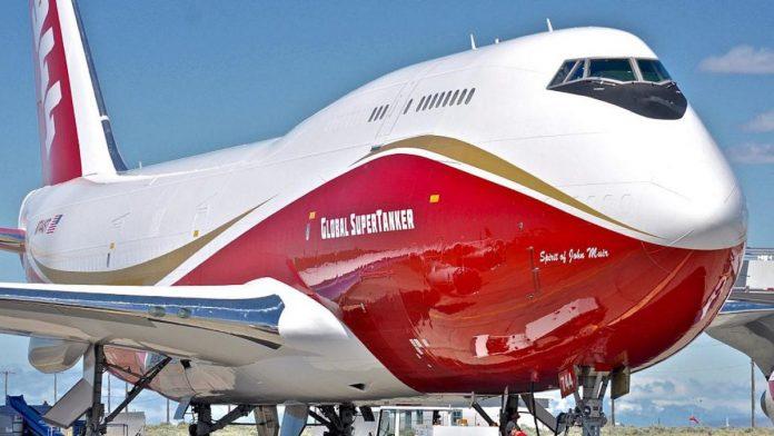 800 mil dólares de garantía y dijo que el costo del servicio del avión SuperTanker