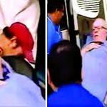 PPK salió en camilla del local médico y abordó una ambulancia, custodiado por dos patrulleros de la unidad de arresto domiciliario.