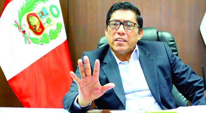 El ministro Vicente Zeballos consideró que dinero se puede usar como una garantía