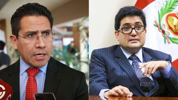 Amado Enco acusa a Jorge Ramírez de beneficiar a la Constructora Brasileña.