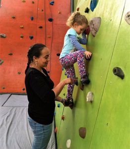 Volunteer and Assist with Indoor Climbing Therapy