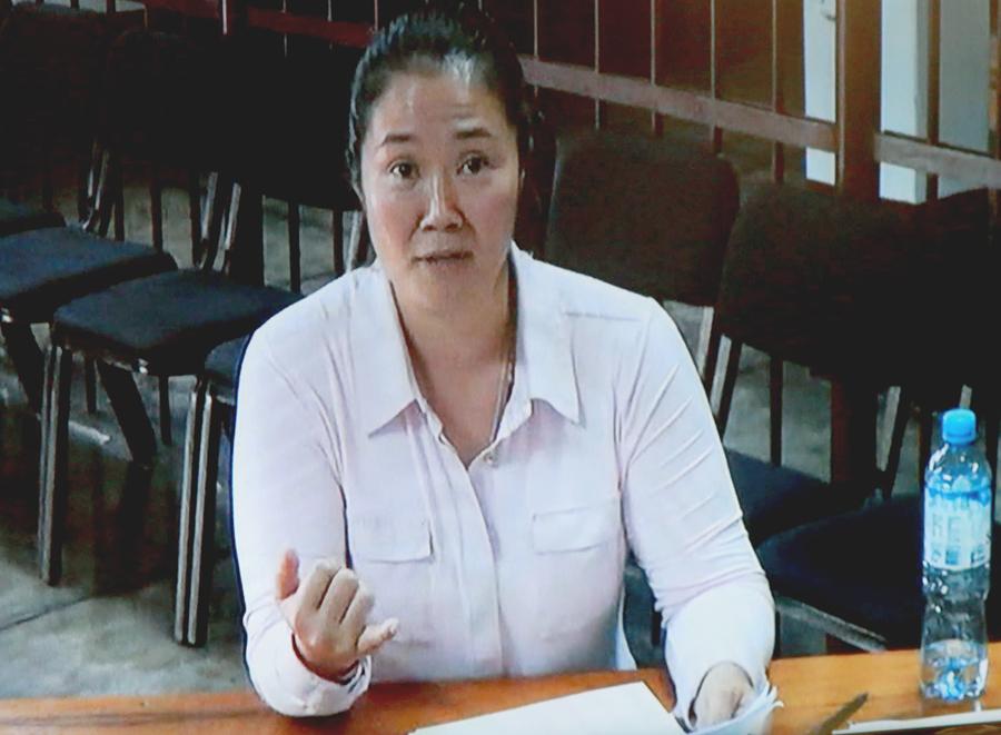 Diligencia desató controversia por ocurrir a un día de que se resuelva la casación de Keiko Fujimori.