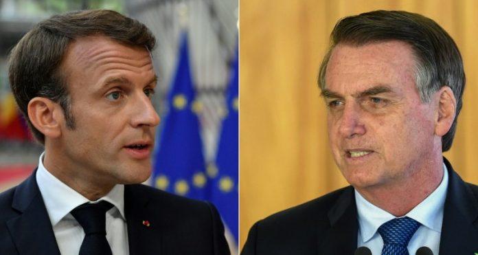 Gobierno de Bolsonaro no desea que Macron intervenga en emergencia natural