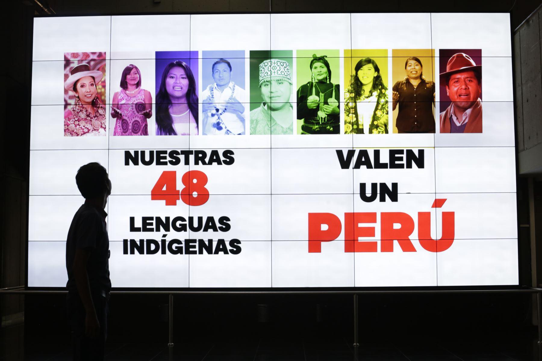 Se busca revalorar las 48 lenguas indígenas del Perú