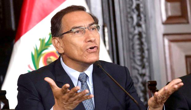El presidente Martín Vizcarra aseguró que el Ejecutivo busca una salida armoniosa.