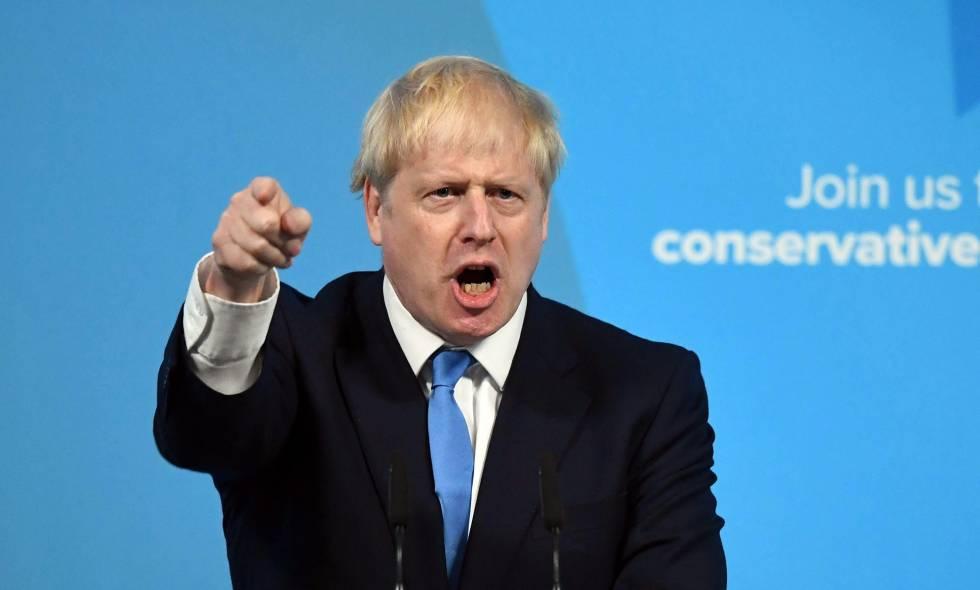 Boris Jonhson reta a la oposición por el Brexit