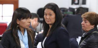 En el caso de Keiko Fujimori también está pendiente el pronunciamiento de la jueza Susana Castañeda sobre el recurso de casación presentado ante la Corte Suprema.