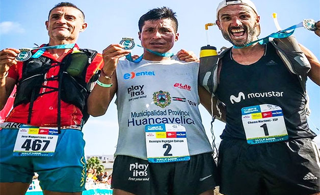 Peruano es tricampeón de la Media Maratón