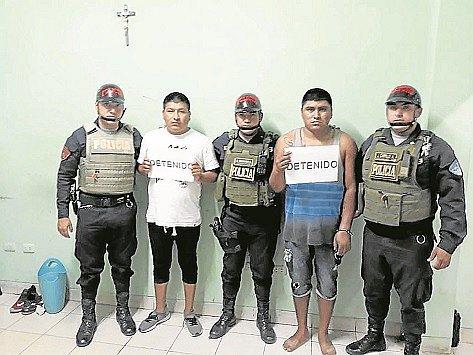 """""""Los Temibles de las Malvinas"""" son capturados en Tumbes"""