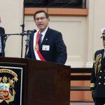 Martín Vizcarra brinda ceremonia en homenaje a Miguel Grau