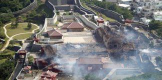 Incendio arrasó milenario Castillo Shuri en Japón