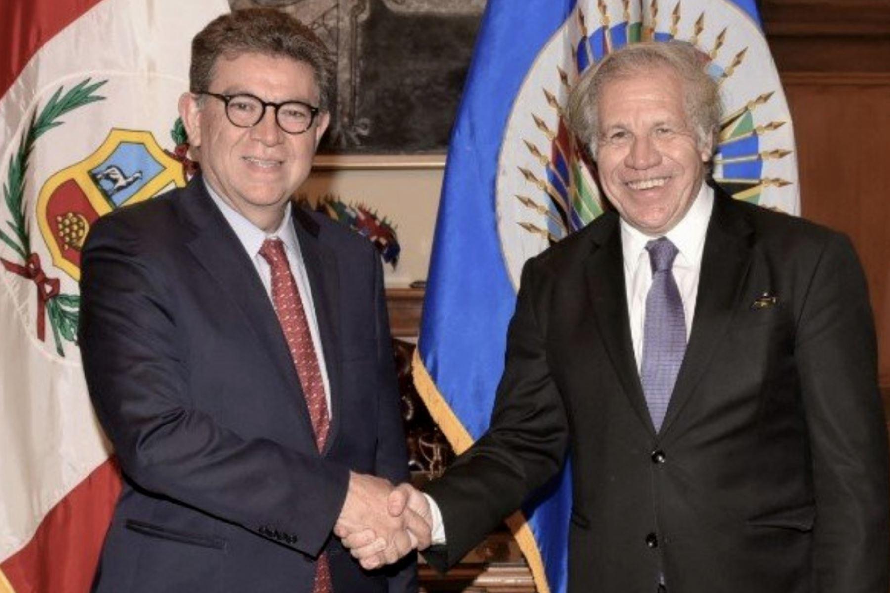OEA enviará observadores a Perú por elección del 2020