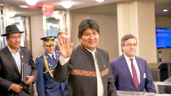 Bolivia: Evo Morales gana elección en primera vuelta