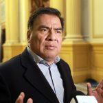 Velásquez Quesquén pide concluir investigación fiscal en su contra