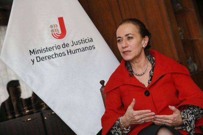 Ministra de justicia