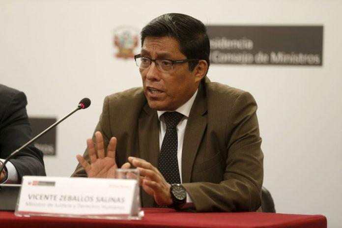 Vicente Zeballos, adelantó que a fines de este mes se presentará la política general del Gobierno l