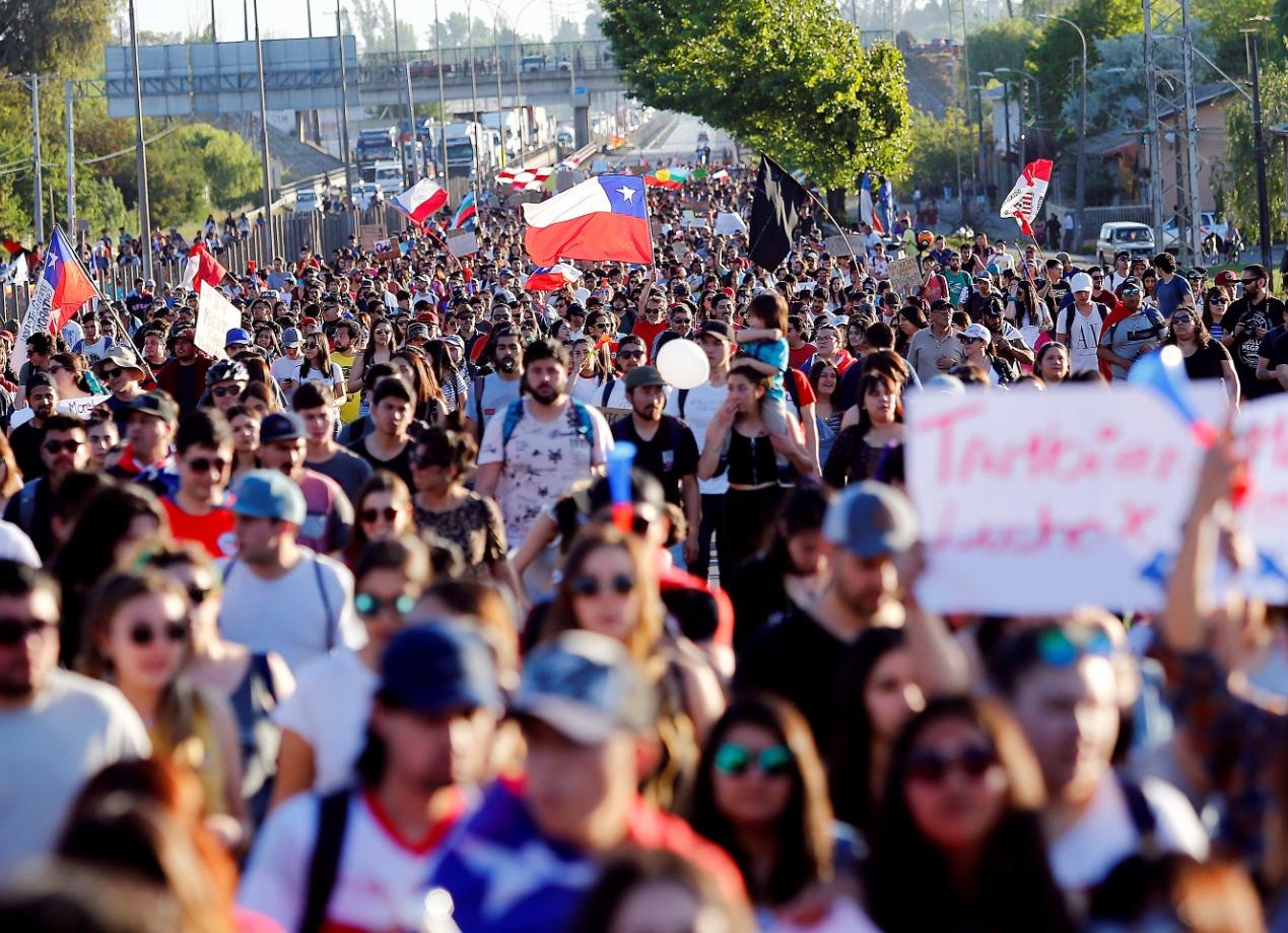 Protestas en Chile se tumban las cumbres de la APEC Y COP25