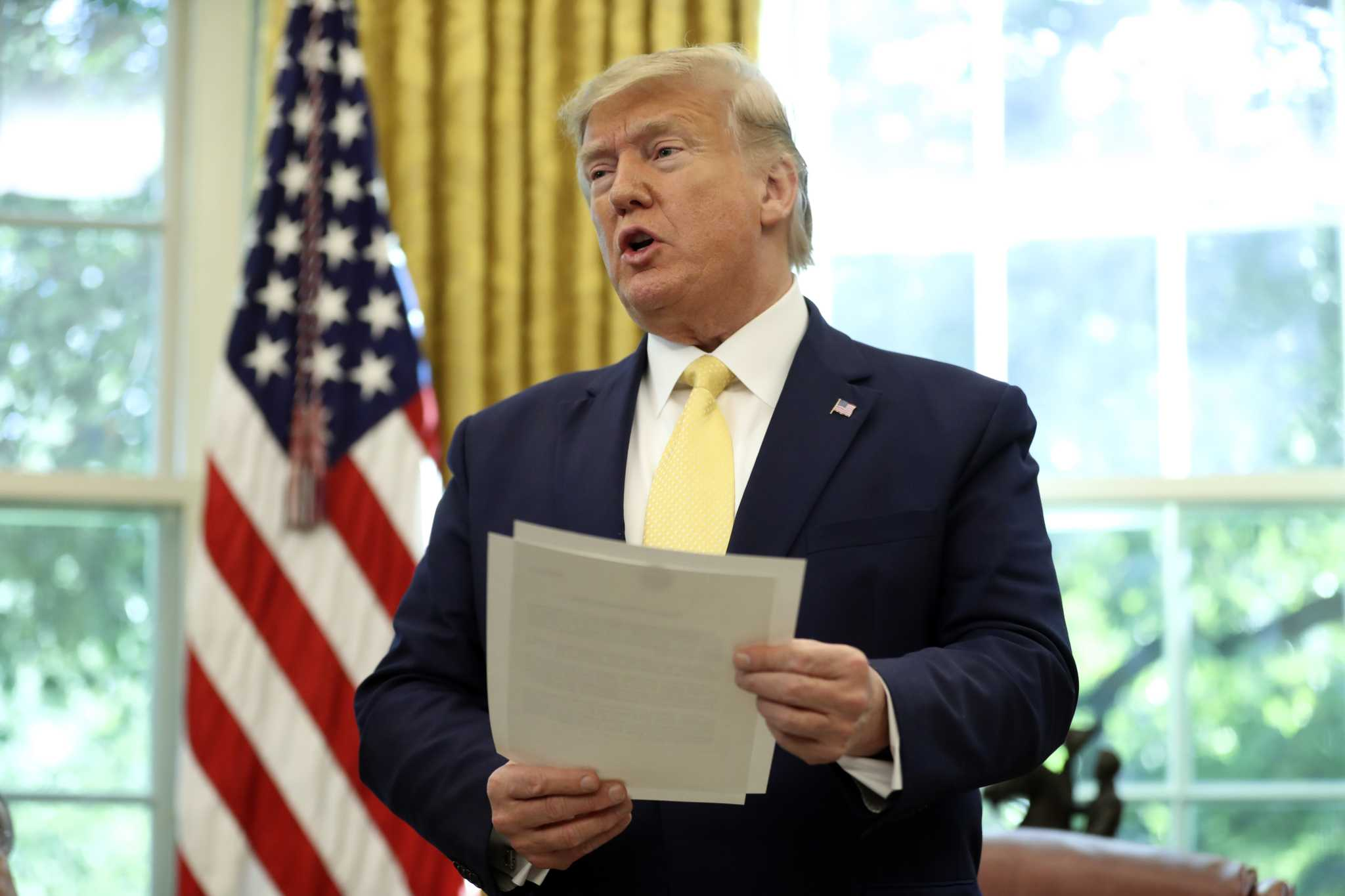Donald Trump sobre Irán: «Tenemos al ejército más poderoso del mundo»