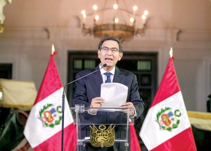 Martín Vizcarra anunció la disolución del Congreso pese a que este poder del Estado le dio la confianza.