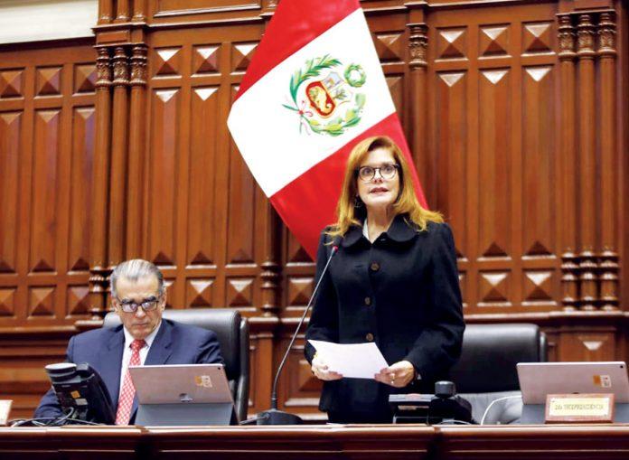 Mercedes Araoz anunció que convocará a la OEA ante tensa crisis polémica que atraviesa nuestro país.