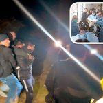 Violadores balean a Policía Nacional