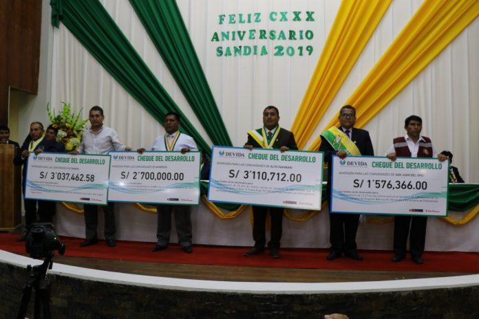 DEVIDA financiará mantenimiento de caminos vecinales