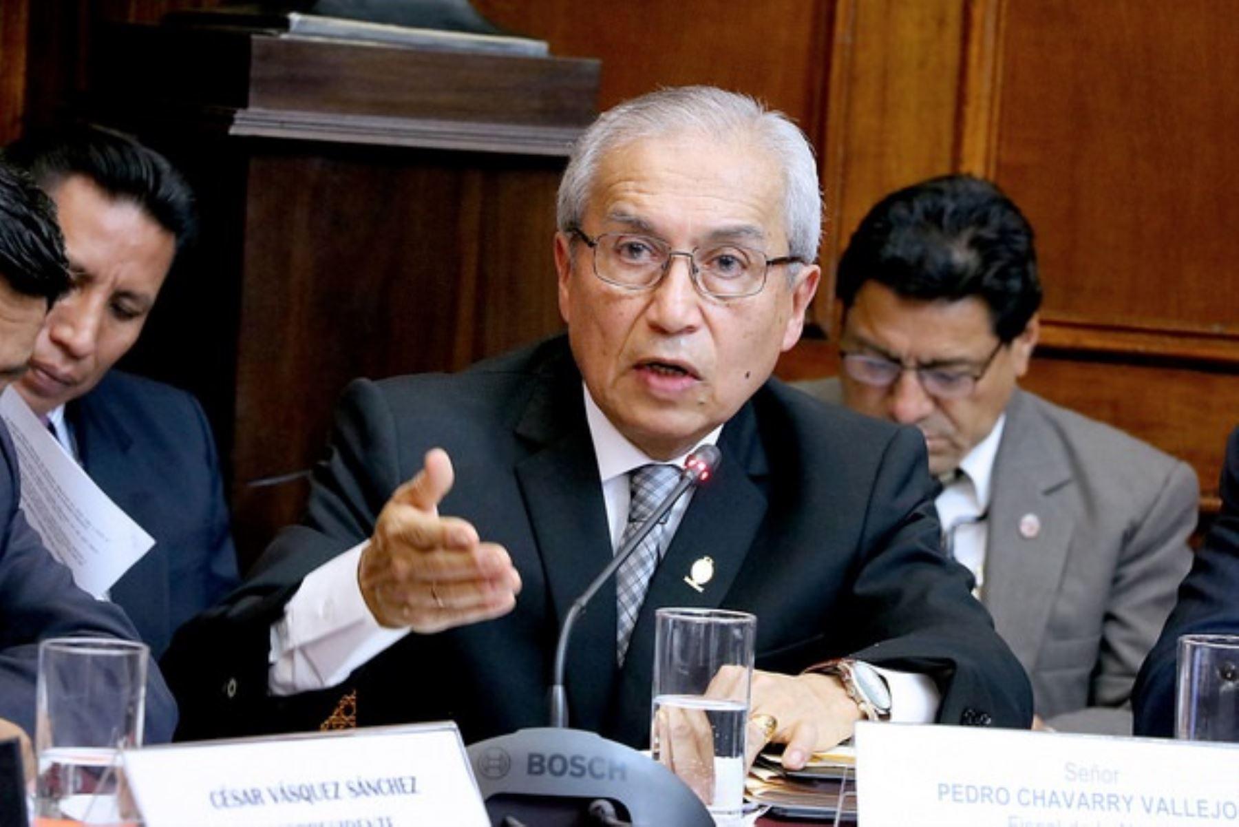 Juez archivó investigación  contra Pedro Chávarry