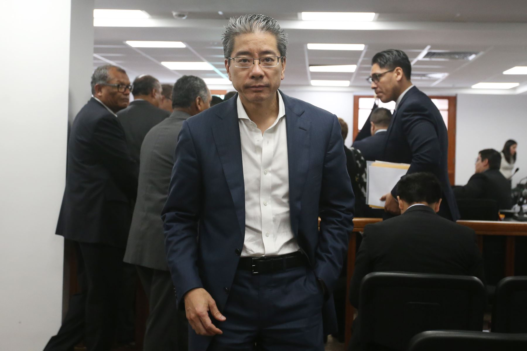 """Declaración de Yoshiyama  muestra """"andamiaje legislativo"""""""