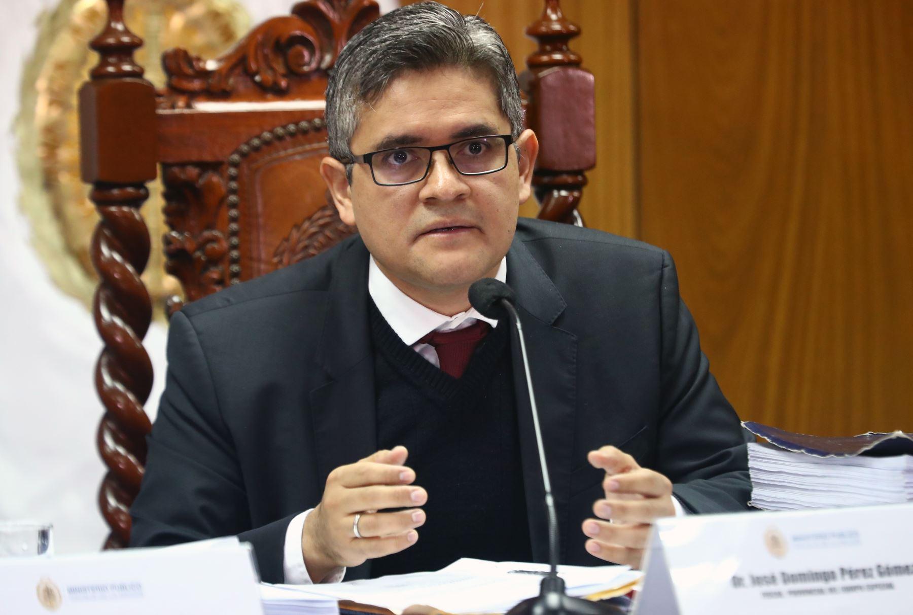 Fiscal Pérez apelará sanción  por dar declaraciones políticas