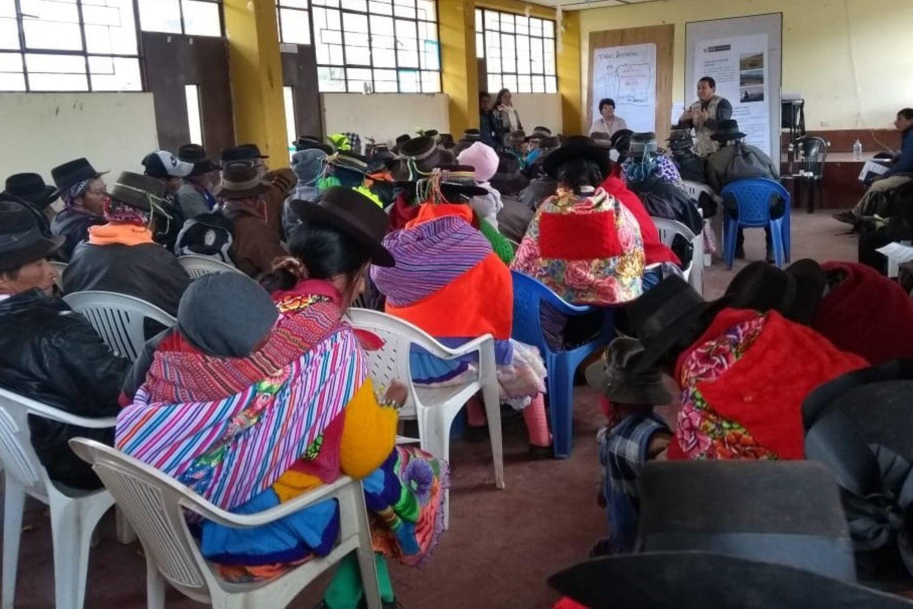Pueblos indígenas son capacitados en el país