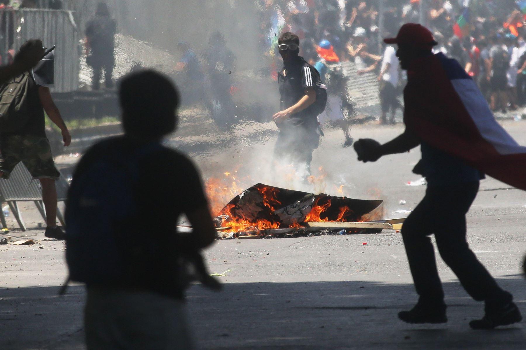 Chile en peligro de  recesión en 2020