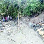 Huaico sepulta a agricultor y lo encuentran muerto