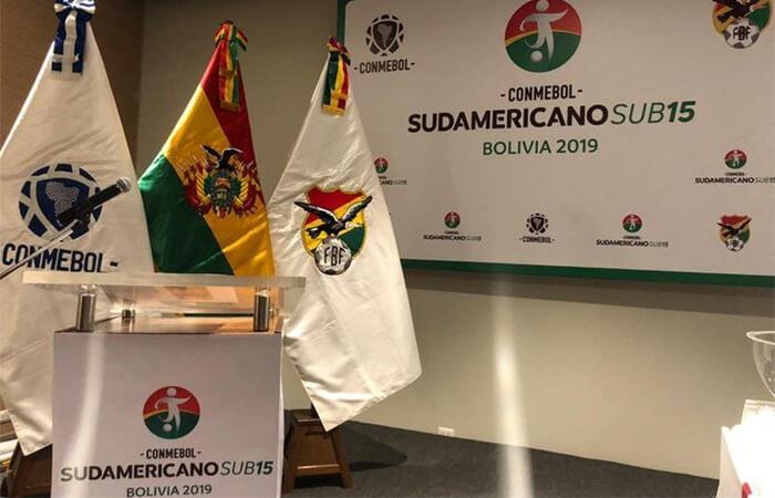 Bolivia descartada por Conmebol  Como sede del Sudamericano Sub 15